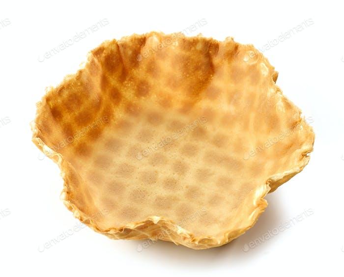 empty waffle basket