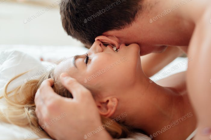 Expression of passionate lovemaking
