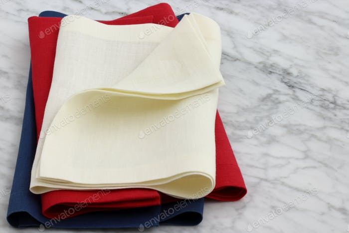 lovely linen hemstitch napkins