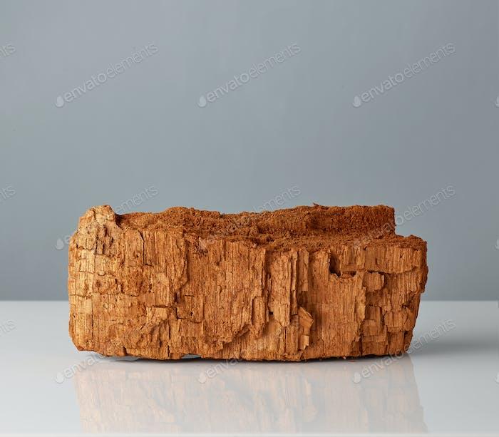 pedazo de madera vieja