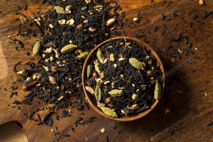 Organische trockene Chai-Teemischung