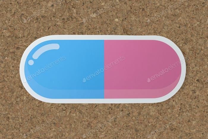Kapsel Medikament Medizin Pille Symbol