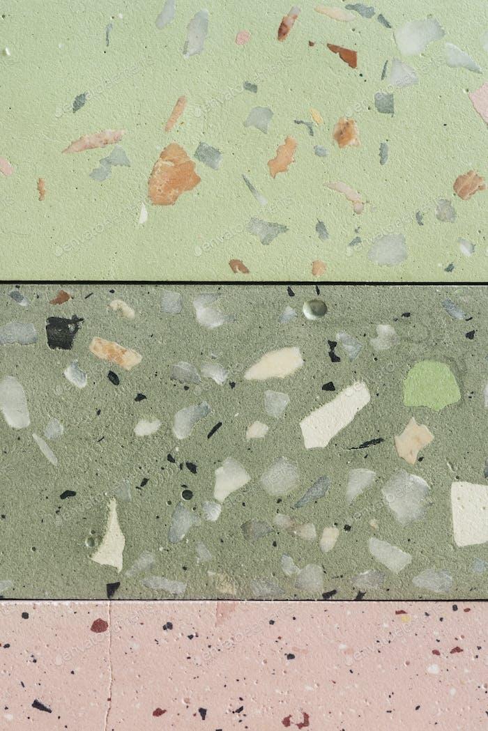 Terrazzo-Fliesen-Oberflächenstruktur-Design-Ressource