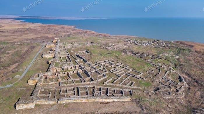 Histria fortress ruins, Romania