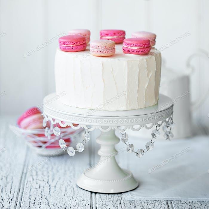 Macaron-Schicht Kuchen