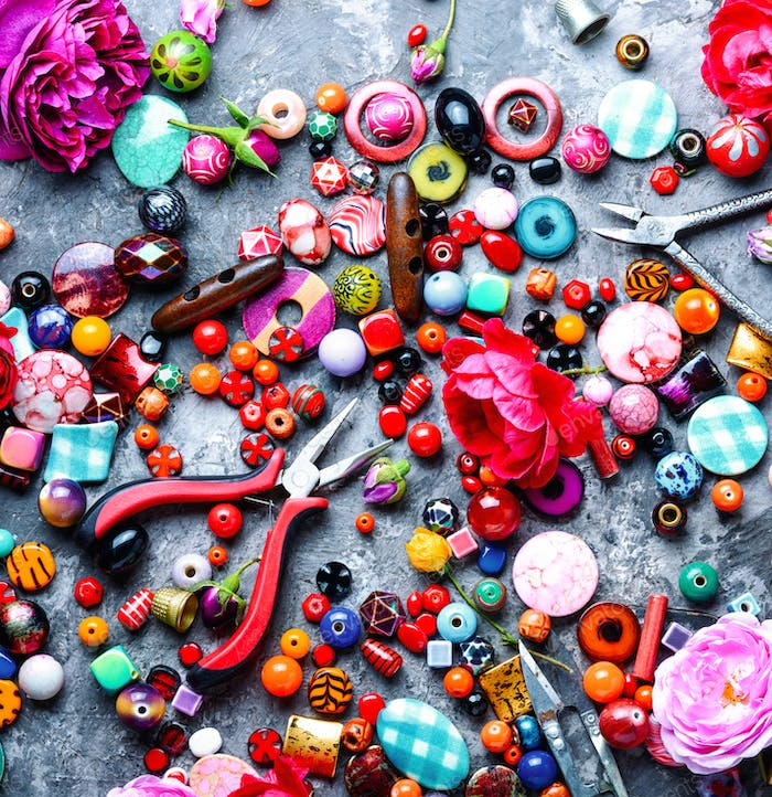Beads, colorful beads