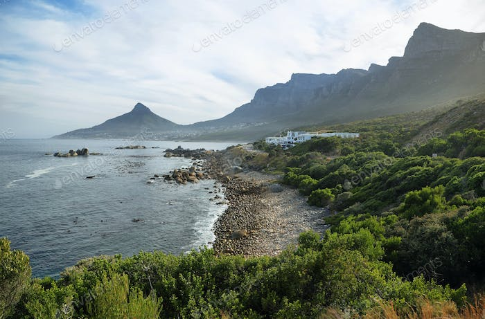 Lions head and twelve apostles near Camps Bay