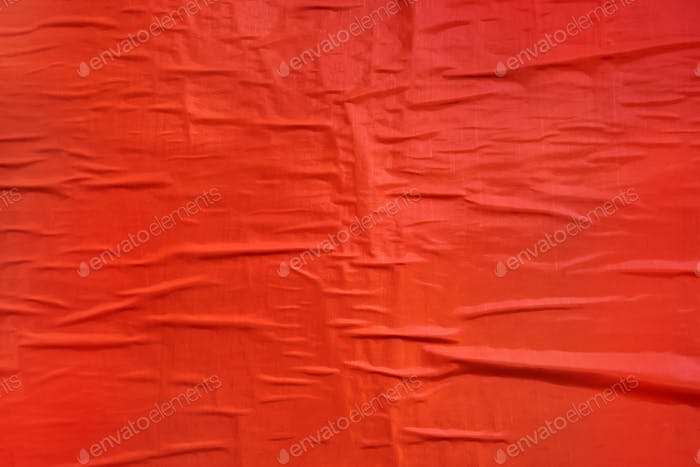 Printed red poster paper texture