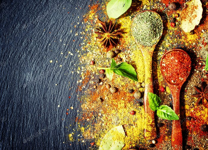 Food spice background