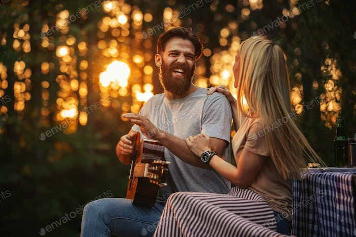 Acoustic sound of love