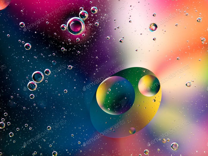 abstract background with vivid colors