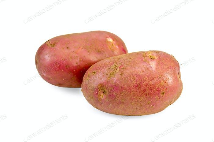 Kartoffeln rot zwei