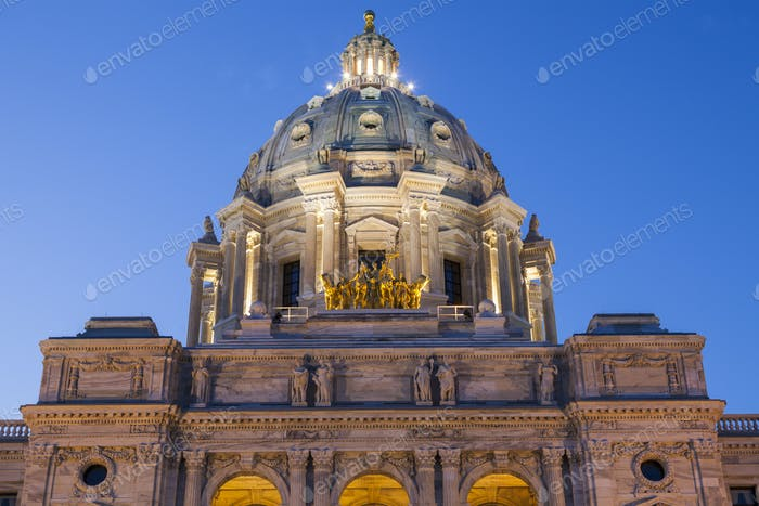 Minnesota State Capitol in St. Paul