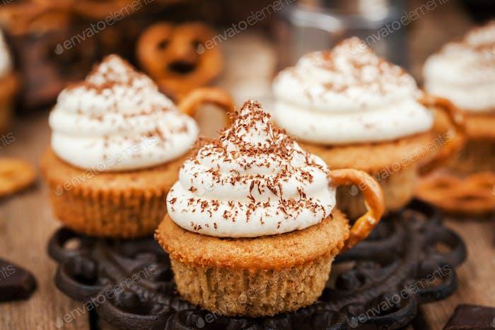 Delicious coffee cupcakes