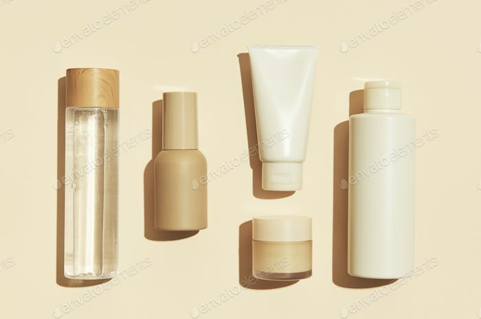 Beauty products design resource set