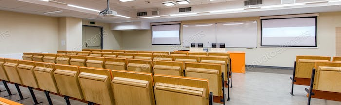 Modern lecture hall for students