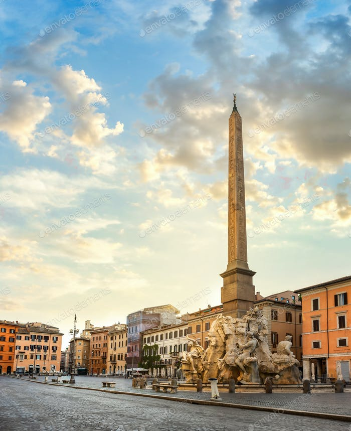 Obelisk in Rome