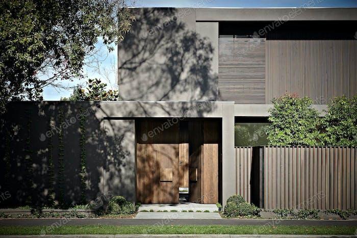 Modern Architectural House Facade