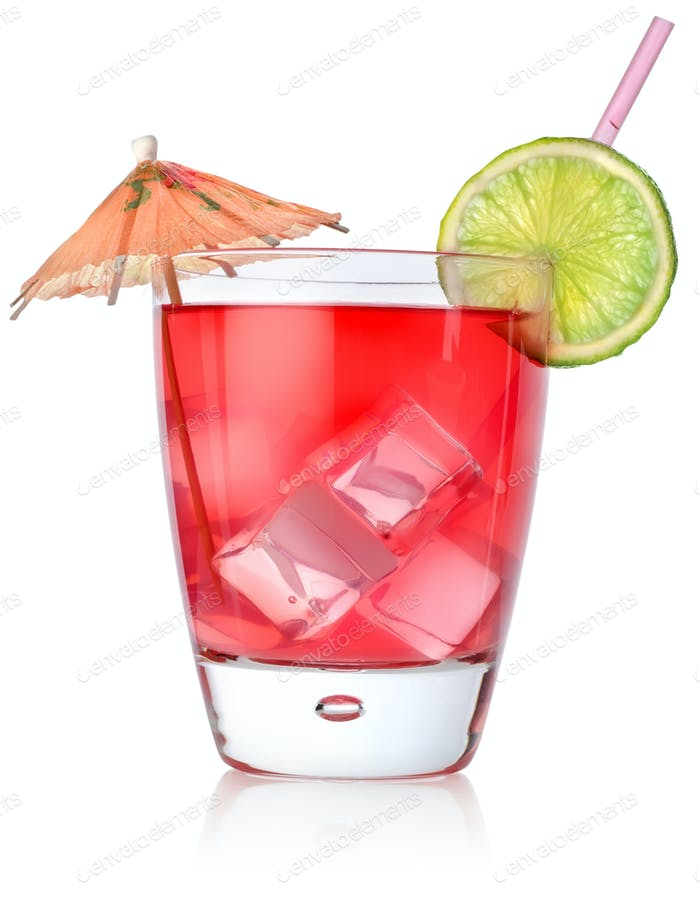 Rad cocktail in a glass