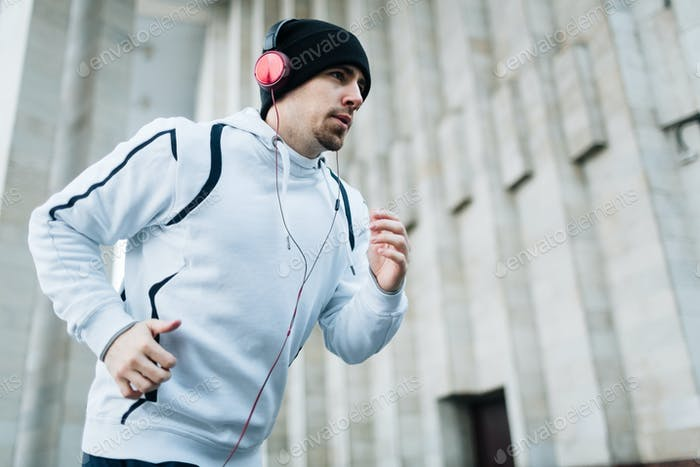 Run with music