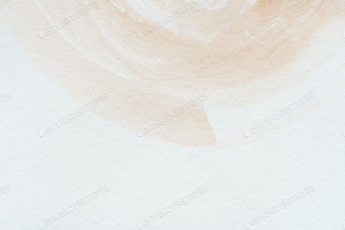 close up of abstract brown watercolor background
