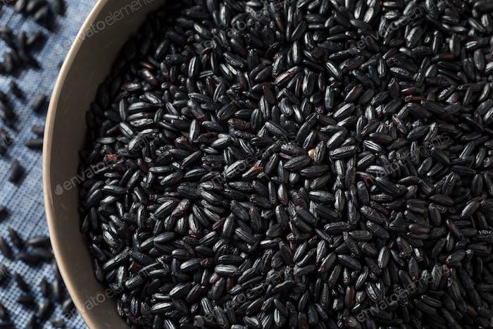 Dry Organic Black Forbidden Rice