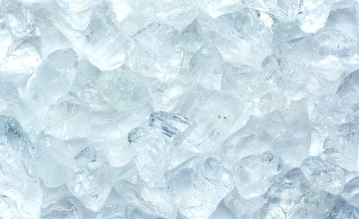 heap of crashed ice