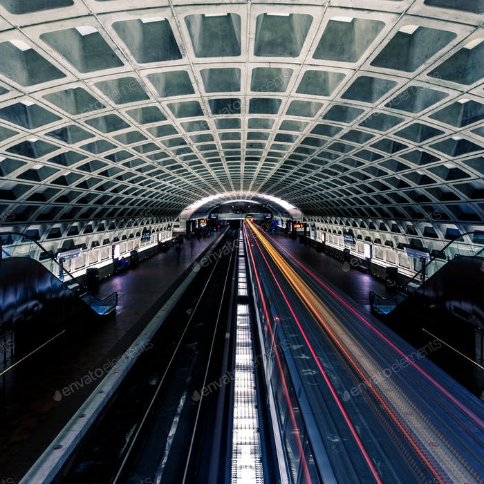 Washington DC Metrostation