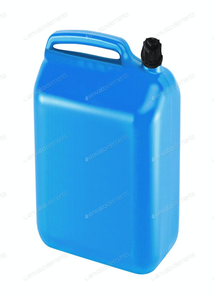 nice blue canister