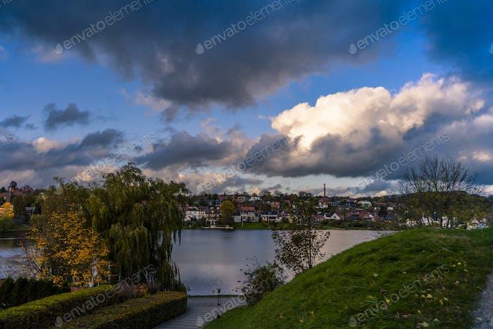 Kolding cityscape, Denmark