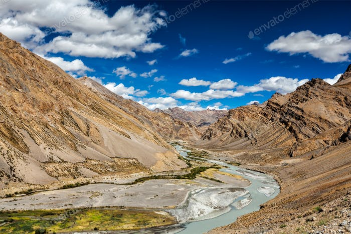 Himalaya Landschaft, Ladakh, Indien