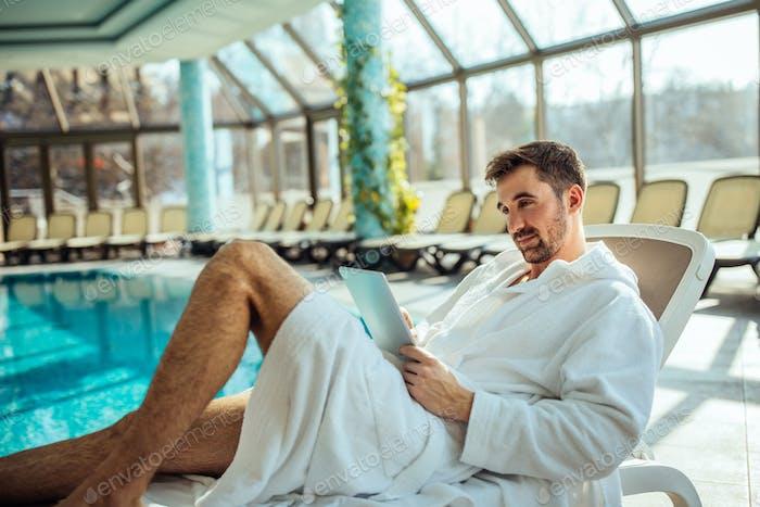 Reading a e-book