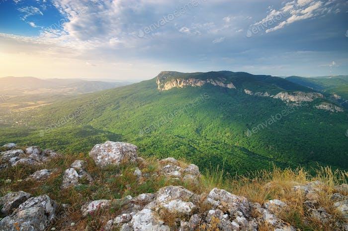 Berglandschaft.
