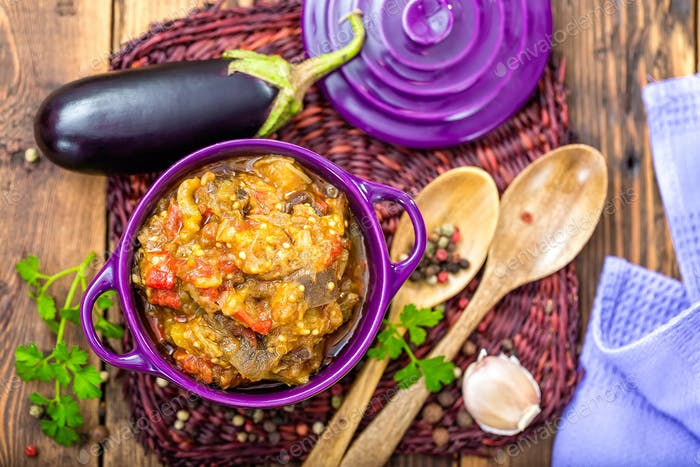 eggplant puree