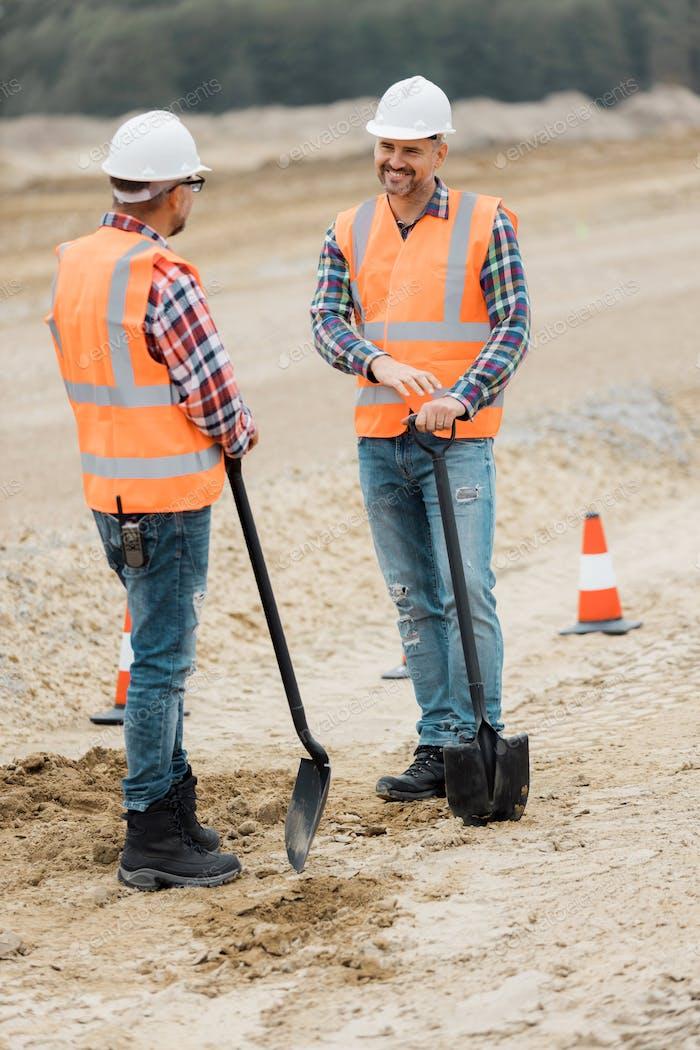 Digging with shuffles