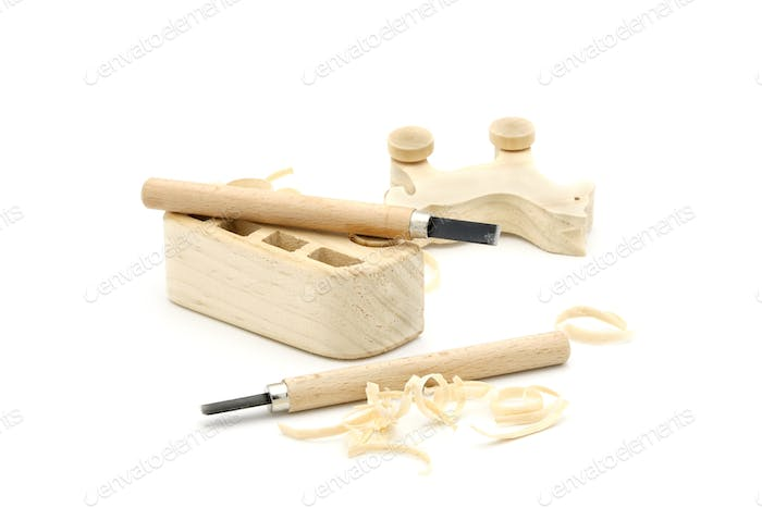 Wooden Carved Toys