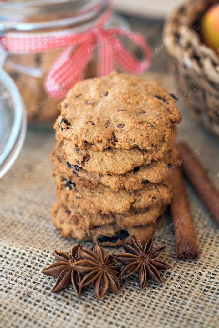 Vollkorn-Kekse