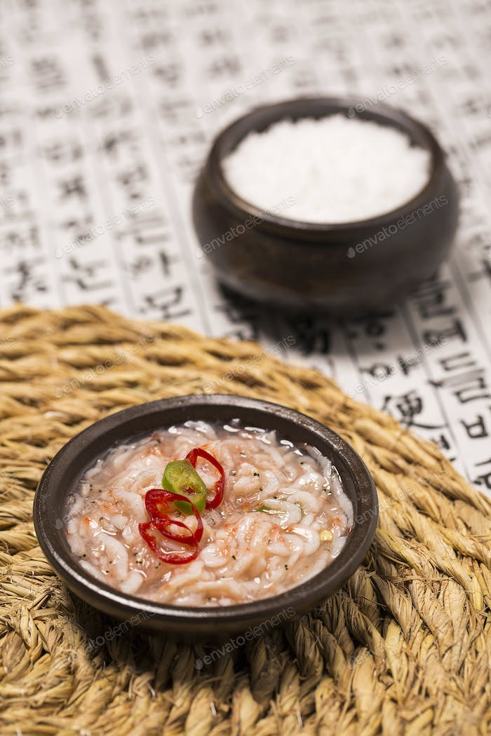 Thumbnail for Korean Cuisine: Salted Fermented Fish/Seafood