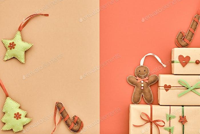weihnachten hintergrund dekoration Design Geschenk-Boxen