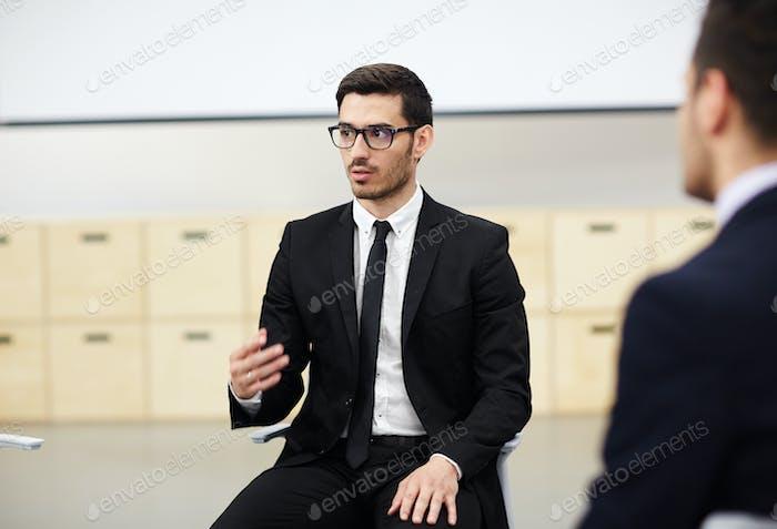 Speech of expert