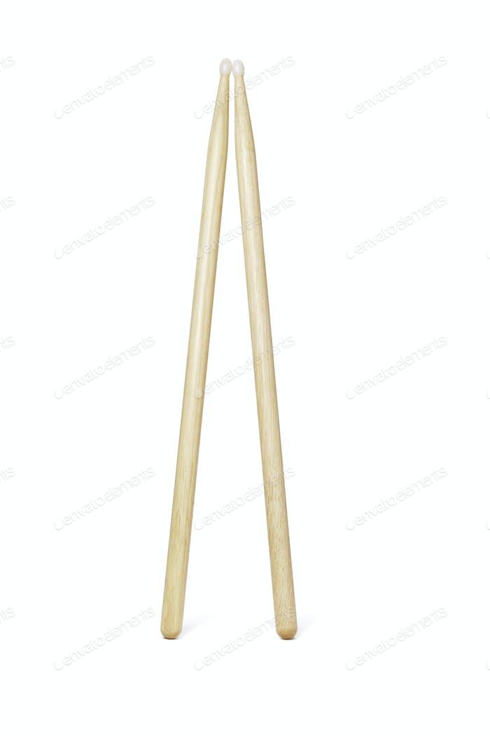 Holztrommelstöcke