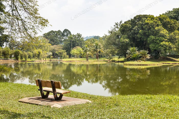 Taiping Lake Gardens is the first public garden established during the British rule in Malaysia.