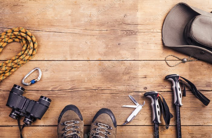 Equipment for hiking