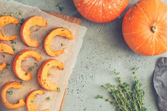 Thumbnail for Baked pumpkin slices
