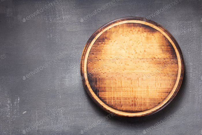 pizza cutting board at  table or wall