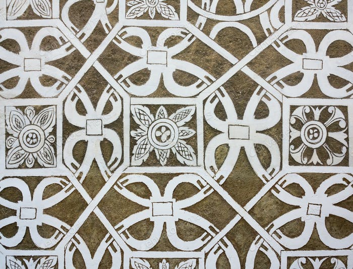 Sgraffito - Renaissance decoration of plaster