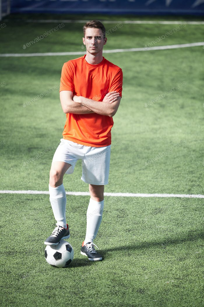 Player on the field