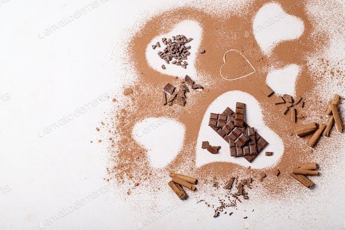 Saint valentine's day cacao