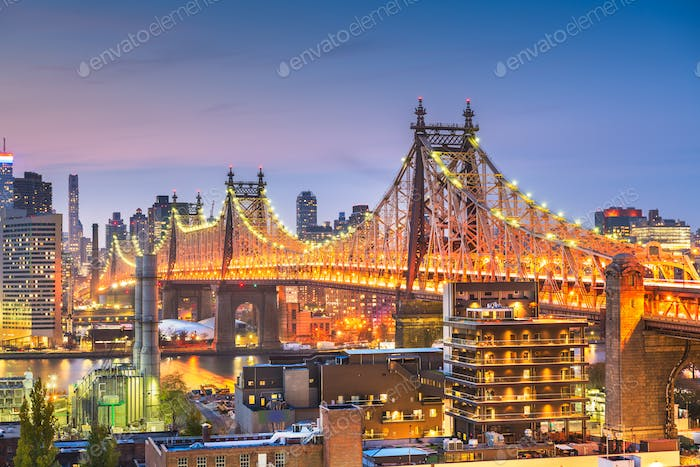 New York City mit Queensboro Bridge