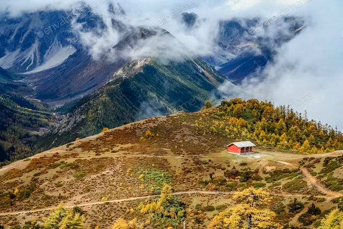Yunnan mountains landscape